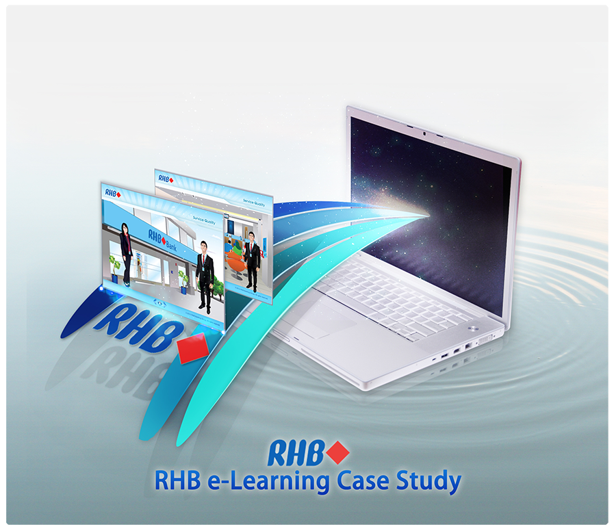 indonesia, malaysia, RHB Bank, SQ, WBT, Singapore, e-Learning, eLearning, service quality, appstronic, case study, online learning